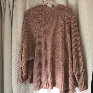 Urban Outfitters Sweaters - Urban Outfitters Chenille Cardigan (mauve)